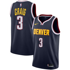Nike Denver Nuggets Swingman Navy Torrey Craig Jersey - Icon Edition - Youth